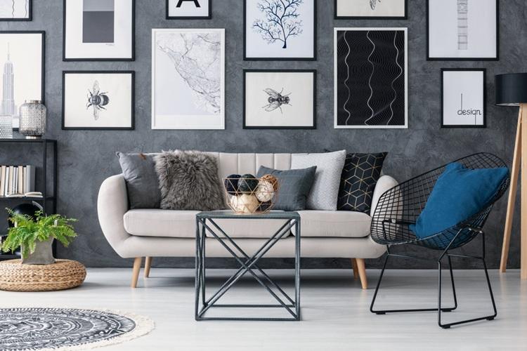 Composições de quadros para adicionar personalidade à decoração - Construtora Laguna