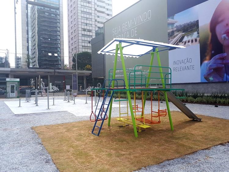 Juvevê recebe Praça de Convivência com academia ao ar livre - Construtora Laguna