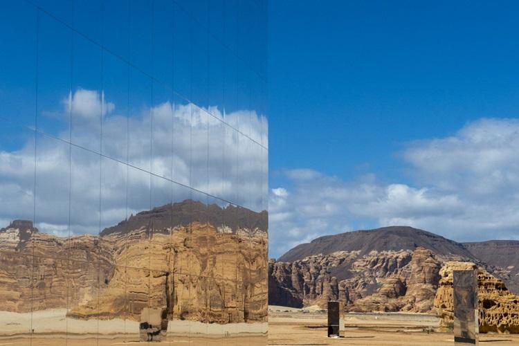 Beleza de deserto na Arábia Saudita é evidenciada por teatro - Construtora Laguna