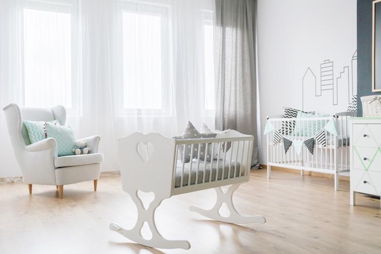 Berços para compor o quarto do bebê - Construtora Laguna