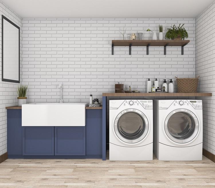 Como decorar a lavanderia com funcionalidade - Construtora Laguna