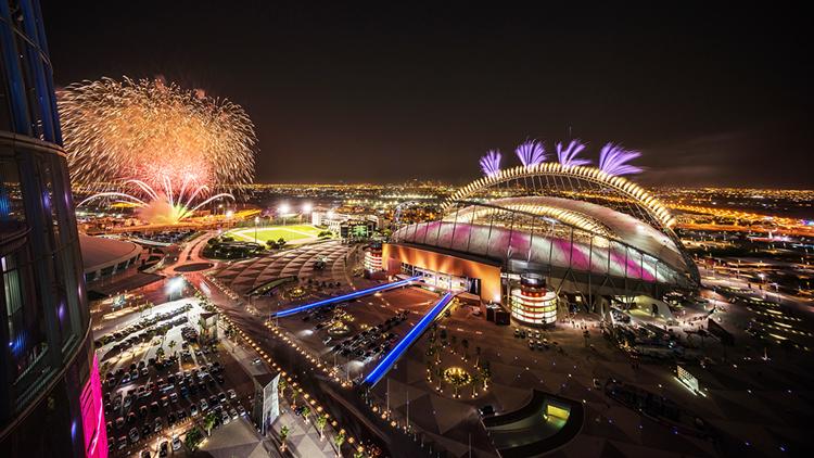 Luxo é característica marcante em primeiro estádio pronto para a Copa do Mundo de 2022 - Construtora Laguna