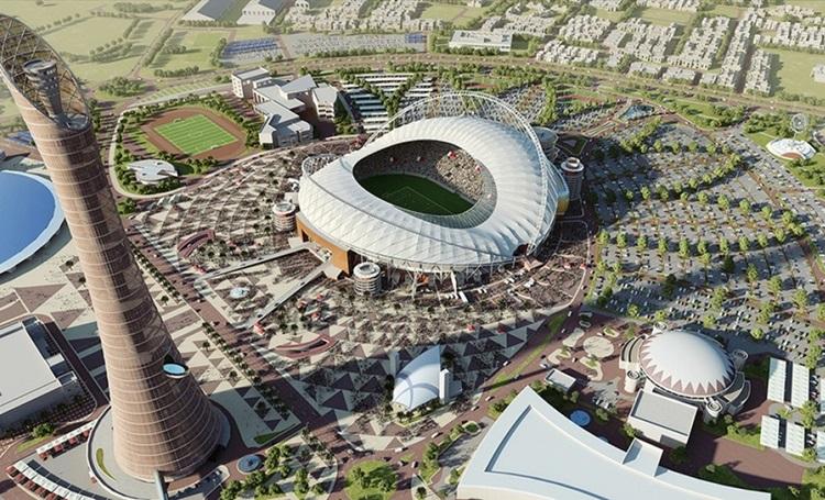 Luxo é característica marcante em primeiro estádio pronto para a Copa do Mundo de 2022, no Catar - Construtora Laguna