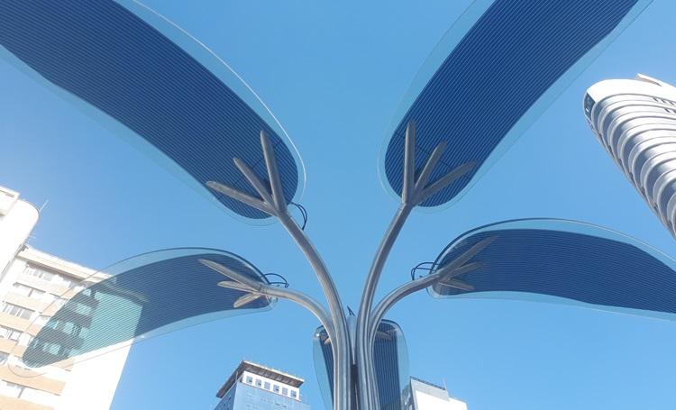 OPTree - tecnologia, design e sustentabilidade na Praça de Convivência Laguna - Construtora Laguna