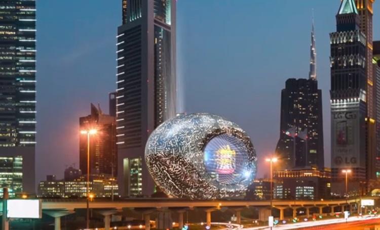 Museu do Futuro de Dubai, uma experiência que une sustentabilidade, tecnologia e arquitetura - Construtora Laguna