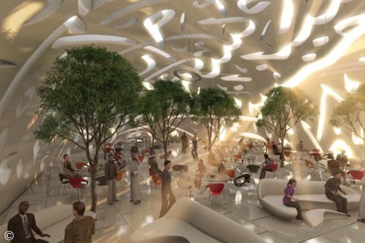 Museu do Futuro de Dubai une sustentabilidade, tecnologia e arquitetura - Construtora Laguna