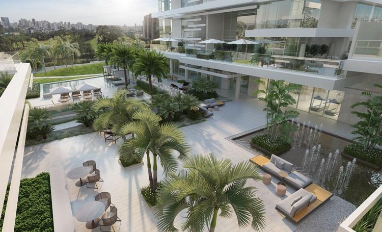 Praças ampliam áreas de convívio em empreendimentos de luxo - Construtora Laguna