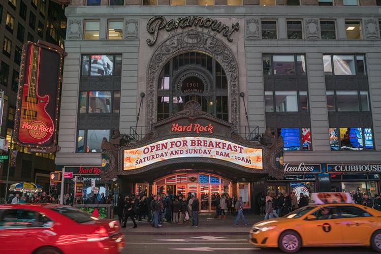 Unidade do Hard Rock Cafe em New York é destino obrigatório para os amantes do rock'n'roll - Construtora Laguna