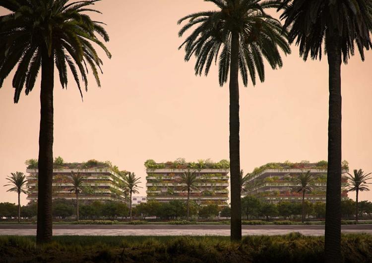 Conceito de florestas verticais é aplicado em nova capital do Egito - Construtora Laguna