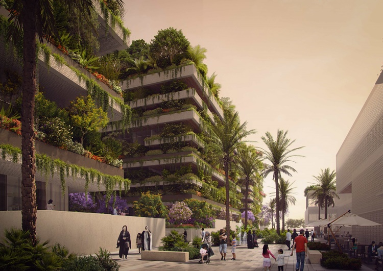 Florestas verticais em nova capital do Egito - Construtora Laguna