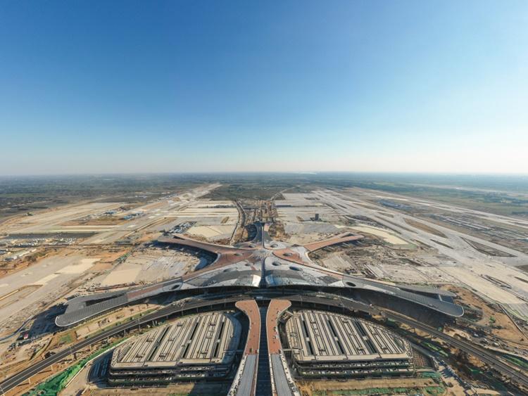 Maior terminal de aeroporto do mundo é inaugurado em Pequim - Construtora Laguna