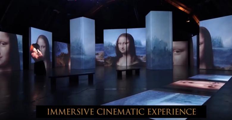 Exposição imersiva comemora os 500 anos das obras de Leonardo da Vinci - Construtora Laguna