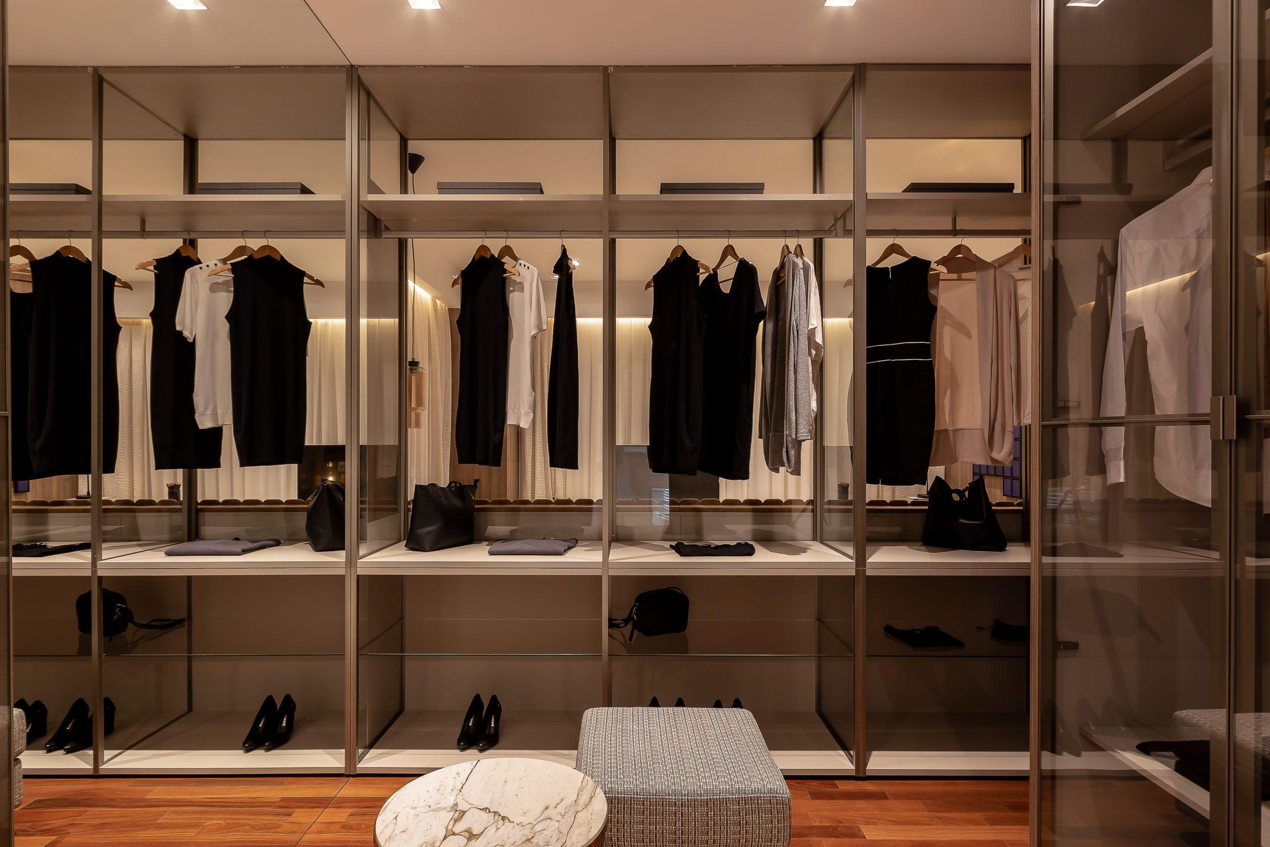 5 passos para planejar um closet de casal - Construtora Laguna