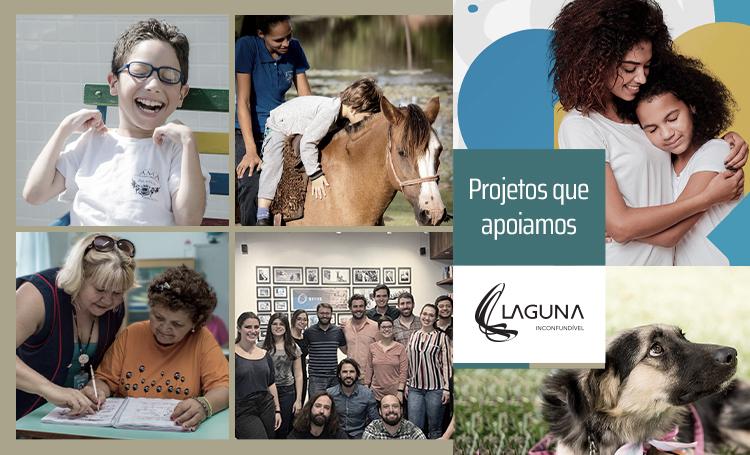 Conheça as instituições sociais que a Laguna apoia! - Construtora Laguna