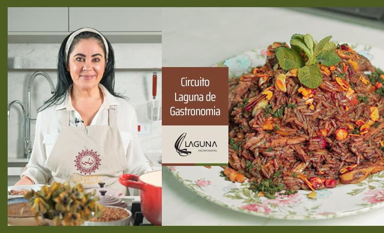 Chef do Nayme Culinária Árabe preparou uma inconfundível receita - Construtora Laguna