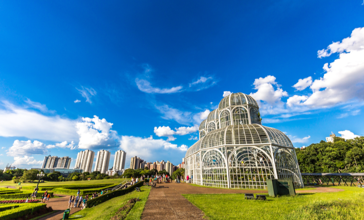 Jardim botânico Curitiba - LAGUNA