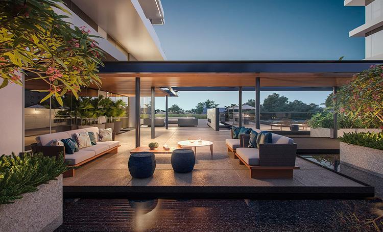 Apartamento de alto padrão MAI Terraces - LAGUNA
