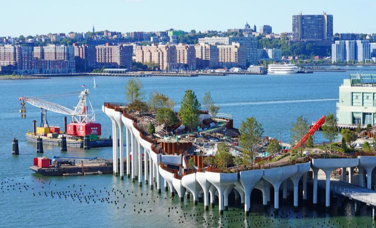Projeto arquitetônico parque flutuante