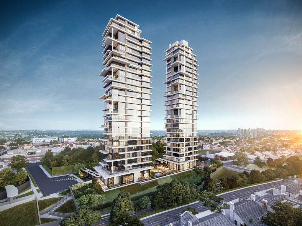 Edifício MAI Terraces vista completa – LAGUNA