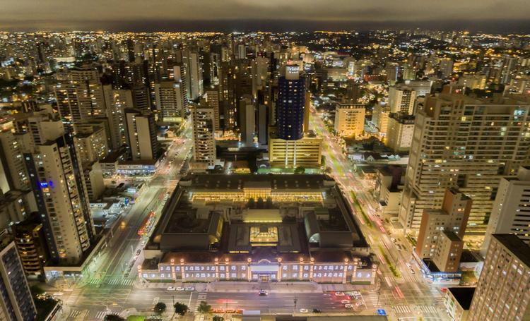 Foto de Curitiba vista de cima