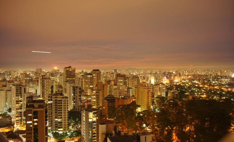 Foto dos Edifícios de Curitiba