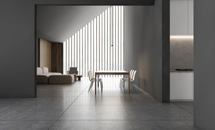 minimalismo na arquitetura aplicado no interior de uma residência