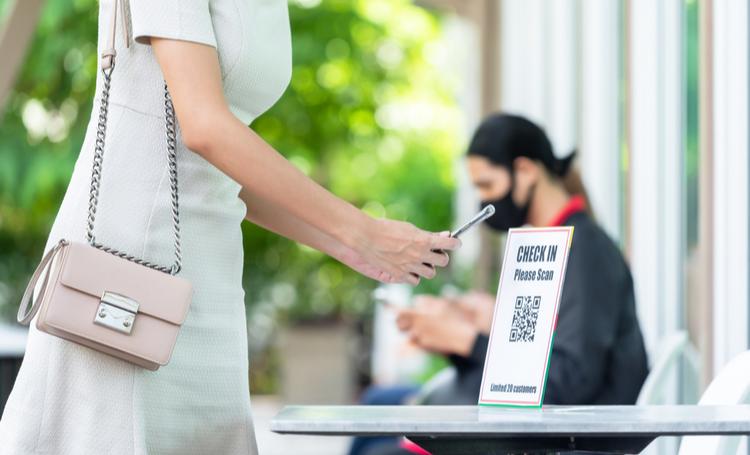 Low touch economy para pagamentos via QR Code