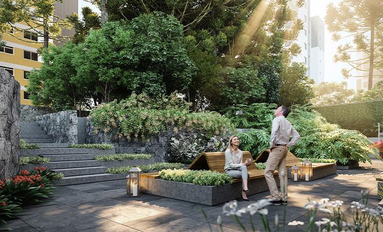 Jardim Externo PINAH